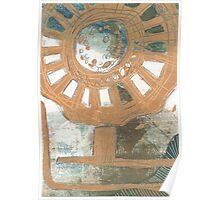 Flower Wheel Poster