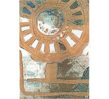 Flower Wheel Photographic Print