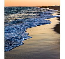 Sunset At South Beach Photographic Print
