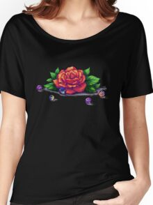 Remember the Roses and Marbles Women's Relaxed Fit T-Shirt