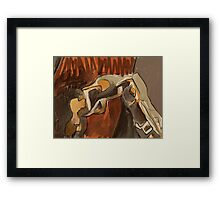 anthro Framed Print