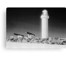 Lighthouse and Canon on Flagstaff Hill Canvas Print
