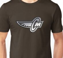 Corley Motors Chrome Logo Unisex T-Shirt