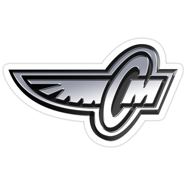 Corley Motors Chrome Logo Stickers By Daniel Rubinstein