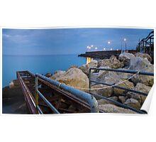 Seaward from Capri Marina Poster