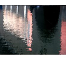 watery colours Photographic Print