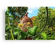 Gardian of the Tomato Blossoms Canvas Print