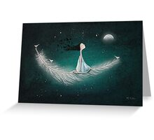 Wherever the wind takes me Greeting Card