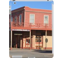 Crystal Palace - Tombstone Az.  Est. in 1800's iPad Case/Skin