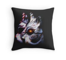 Cat Masks Throw Pillow