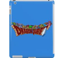 Dragon Quest (SNES) Enemies iPad Case/Skin