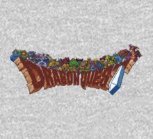 Dragon Quest (SNES) Enemies One Piece - Long Sleeve
