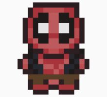 Pixel Deadpool by Jackapedia
