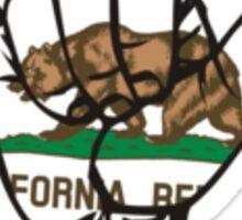 California Shaka Sticker