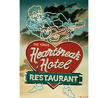 HeartBreak Hotel Photographic Print