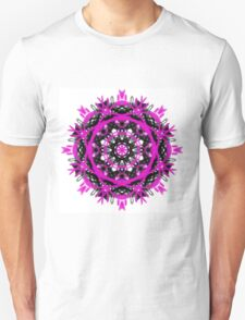 Pink and Black Fantasy Unisex T-Shirt