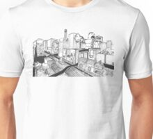 While the city screems Unisex T-Shirt