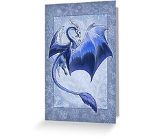 The Dragon of Winter Greeting Card