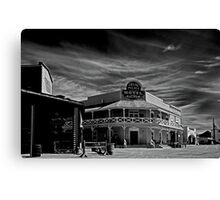 Grand Palace Hotel & Saloon Canvas Print
