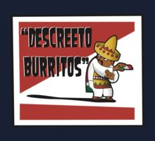 Clerks: Animated Series - Descreeto Burrito (SD) v2 Kids Tee