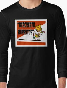 Clerks: Animated Series - Descreeto Burrito (SD) v2 Long Sleeve T-Shirt