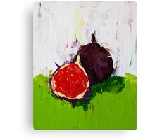 Figs in the Hall Canvas Print