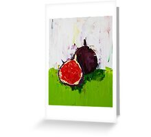 Figs in the Hall Greeting Card