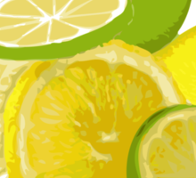 When life hands you lemons and limes... Sticker
