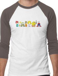 Trigger Guys Men's Baseball ¾ T-Shirt
