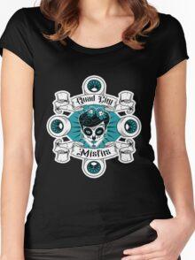Quad City Misfits Women's Fitted Scoop T-Shirt