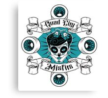 Quad City Misfits Canvas Print