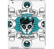 Quad City Misfits iPad Case/Skin
