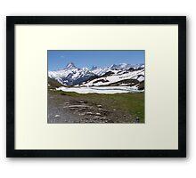 Near Bachalpense Framed Print
