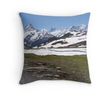 Near Bachalpense Throw Pillow