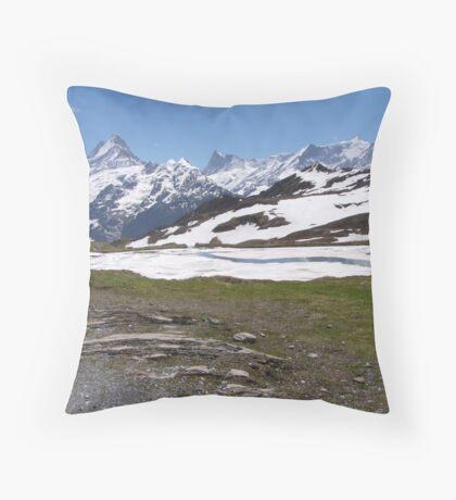 Near Bachalpense Throw Pillow
