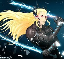 Elf Gear Rising: Thranduil's Revengeance  by Shamserg