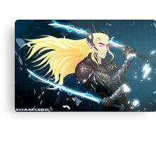 Elf Gear Rising: Thranduil's Revengeance  Metal Print