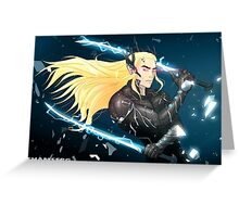 Elf Gear Rising: Thranduil's Revengeance  Greeting Card