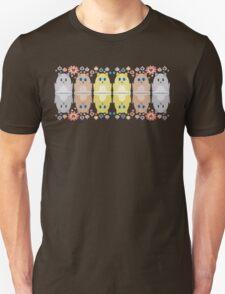 CATS, FLOWERS & BAUBLES Unisex T-Shirt