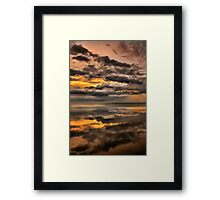 Ominous Dawn Framed Print