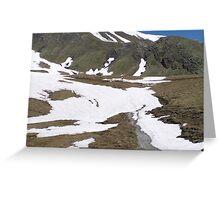 Hiking in Switzerland Greeting Card