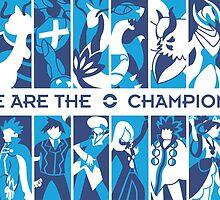 Pokemon League Champions by Eat Sleep Poke Repeat