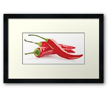 This Chili's Hot, Hot, Hot! Framed Print
