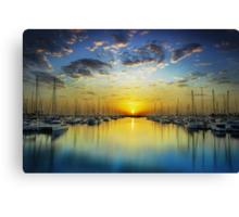 Harbour Dawn Canvas Print