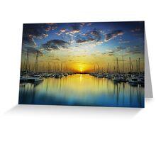 Harbour Dawn Greeting Card