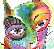 Cat Eyes by weehen