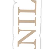 11- VANILLA - pillow collection! Sticker