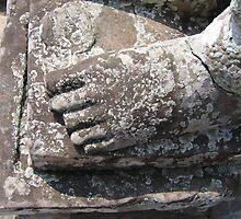buddhas foot by greenrosestorm