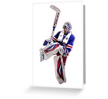 New York Lundqvist Greeting Card
