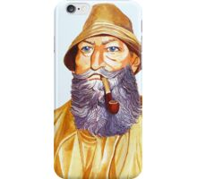 The Old Sailor iPhone Case/Skin